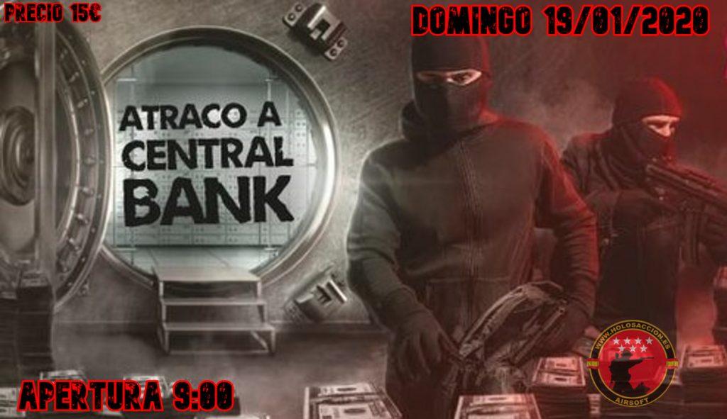 ATRACO A CENTRAL BANK